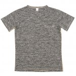 "Workers K&T H MFG Co""Pocket T-Shirt, Gray"""