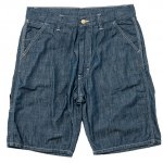 "Workers K&T H MFG Co""Work Shorts, Poplin, 6.5Oz Denim"""
