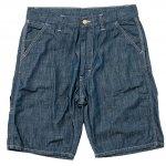 "Workers K&T H MFG Co""Work Shorts, Poplin, 6.5Oz Denim"""