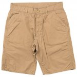 "Workers K&T H MFG Co""Work Shorts, Poplin, Beige"""