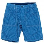 "Workers K&T H MFG Co""Indigo Shorts, Stars & Stripes"""