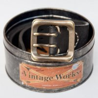 "Vintage Works ""DH5716 FLANNEL (black)"""