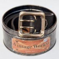 """Vintage Works """"DH5716 FLANNEL (black)"""""""
