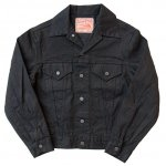 "SUGAR CANE ""13.0oz BLACK DENIM JACKET 1962Model"""