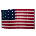 "CAL O LINE ""OLD AMERICAN FLAG 13 STAR BLANKET by IMABARI TOWEL"