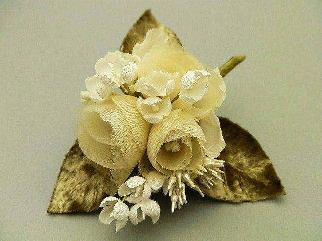 薔薇と小花とペップのお花のブーケ
