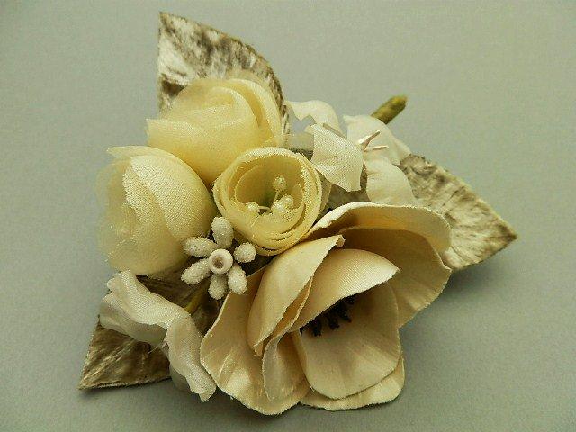薔薇とアネモネのブーケ