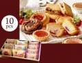 しっとり&サクサク フルーツ味のリッチな焼き菓子ギフト(10pcs)