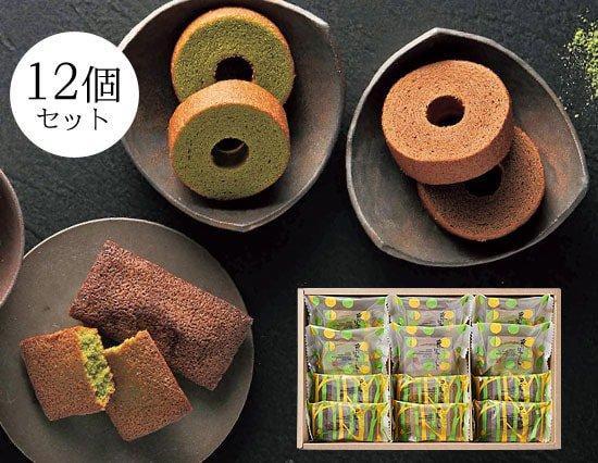 抹茶パフェを作った【京はやしや】の絶品抹茶焼き菓子ギフト(12pcs)