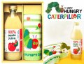 ベストセラー絵本【はらぺこあおむし】 りんごジュース&タオル