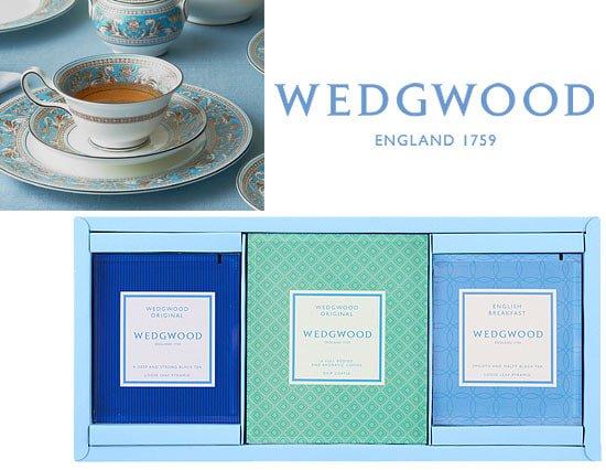 ウェッジウッド シグニチャー ティーバッグ&ドリップコーヒーのギフトセット(9pcs)