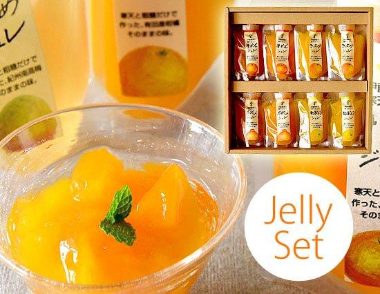 ぷるぷるつるん♪のフルーツ寒天ジュレドリンクギフト(4種8個)