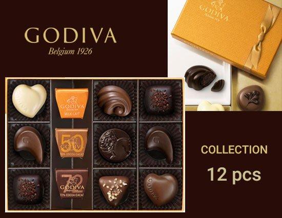 GODIVA Collection (ゴディバ コレクション 12pcs)
