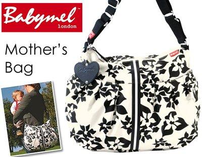ロンドンスタイル ママのために作られたBabymelのマザーズバッグ(フローラル)