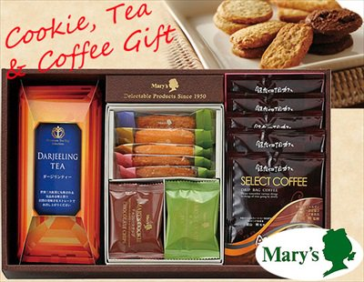 Mary'sのサクサククッキー&紅茶&ドリップコーヒーギフトセット